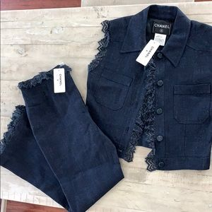 CHANEL vest and pant set